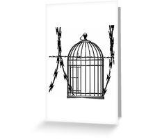 FREE FREEDOM! Greeting Card