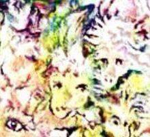 Sheep Bouquet  Sticker
