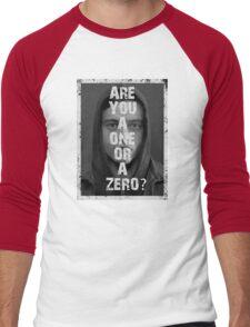 Elliot Alderson - Mr Robot - frame Men's Baseball ¾ T-Shirt