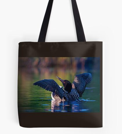 Rise 'n shine - Common loon Tote Bag