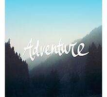 Adventure x Blue Photographic Print