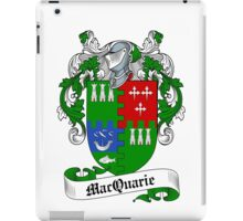 MacQuarrie iPad Case/Skin