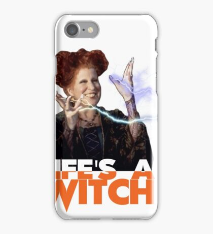 Life's a Witch iPhone Case/Skin