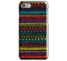 Abstract Aztec Pattern Tribal iPhone Case/Skin