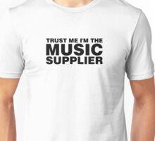 Music supplier black Unisex T-Shirt
