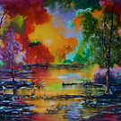 Colorful Landscape by Deb Reynolds