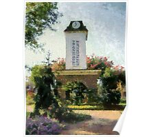 Franklin Clock Tower Poster