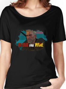 Blood And Wine - TW3 Women's Relaxed Fit T-Shirt