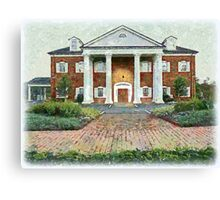 Colonial Revival Style Canvas Print