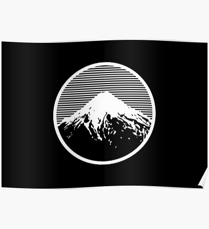 Retro Mountain Poster