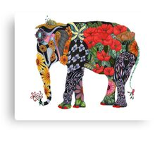 Ms Ele Phant Canvas Print