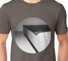 Black and White Book Unisex T-Shirt