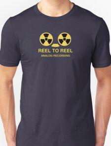 Reel to reel analog recording Unisex T-Shirt