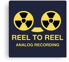 Reel to reel analog recording Canvas Print
