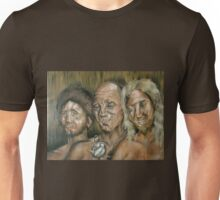 Three Dark Men Unisex T-Shirt