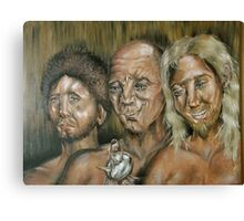 Three Dark Men Canvas Print