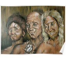 Three Dark Men Poster