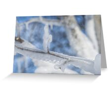 Frozen Image Greeting Card