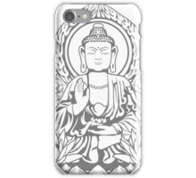 Siddartha Buddha Halftone iPhone Case/Skin