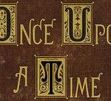 Once Upon a Time - Henry's Book Sticker