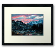 Fire Sky Framed Print