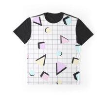 80s Geometric Graphic T-Shirt