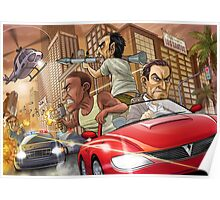 GTA V Poster, Cover & More Poster