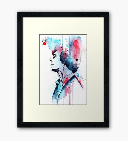 Detective Framed Print