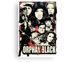 Orphan Black - Noir Canvas Print