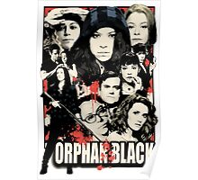 Orphan Black - Noir Poster