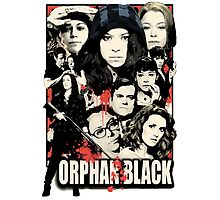 Orphan Black - Noir Photographic Print