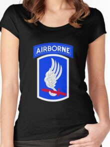 173rd Airborne Brigade Combat Team (US Army) Women's Fitted Scoop T-Shirt