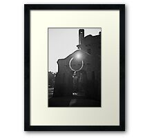 Curtis Mansion at Sunrise Framed Print