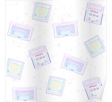 Pastel Cartridges Poster