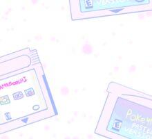 Pastel Cartridges Sticker