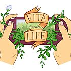Vita Means Life by echidnite