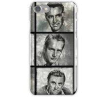 Hollywood Legends - Vintage Actors iPhone Case/Skin