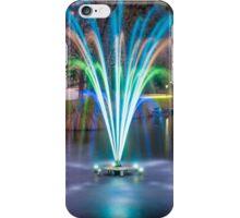 Fountain Light Show iPhone Case/Skin