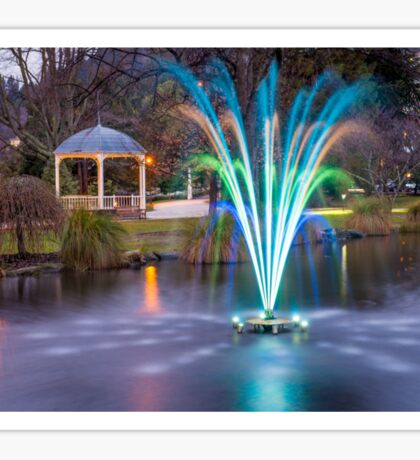 Fountain Light Show Sticker