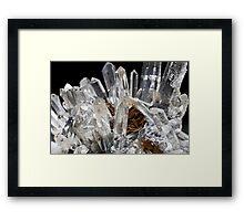 dusty quartz Framed Print