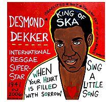 desmond dekker Photographic Print