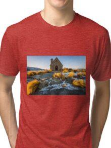 The Good Shepherd Church Tri-blend T-Shirt