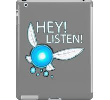 Navi!  HEY! LISTEN! iPad Case/Skin