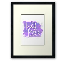 Read the Book Framed Print