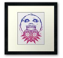 Majora's mask - Colour Gradient  Framed Print