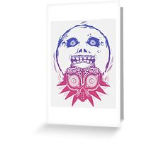 Majora's mask - Colour Gradient  Greeting Card