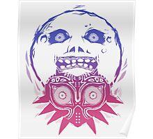 Majora's mask - Colour Gradient  Poster