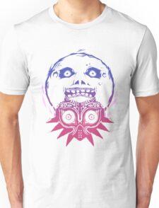 Majora's mask - Colour Gradient  Unisex T-Shirt
