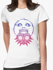 Majora's mask - Colour Gradient  Womens Fitted T-Shirt