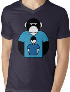 Planet Apes-man Mens V-Neck T-Shirt